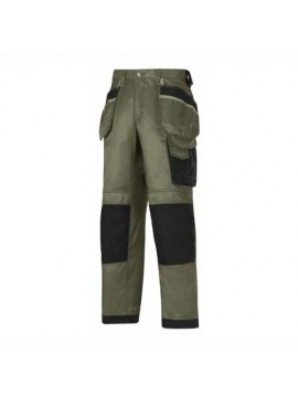 flax smoke color electrician pant